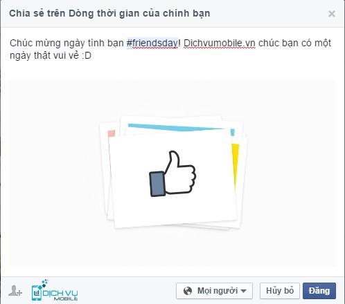 Hướng dẫn làm video tình bạn trên Facebook 5