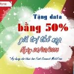 Khuyến mãi 50% data Fast Connect Mobifone ngày 24/2/2016