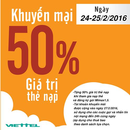 khuyen-mai-nap-the-viettel-tang-50-ngay-24-va-252