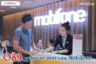 MobiFone được cấp đầu số mới 089