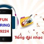 Tổng đài nhạc chờ Funnring của Mobifone 9224