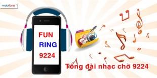 Tổng đài nhạc chờ Funring Mobifone.