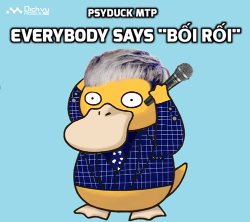 Vịt bối rối Psyduck làm cả cộng đồng mạng... bối rối