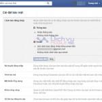 5 cách bảo mật tài khoản Facebook của bạn tốt nhất 2016