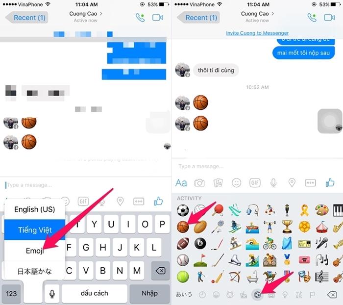 Cách chơi game bóng rổ trên Facebook Messenger 1