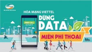 Viettel trien khai chuong trinh uu dai hap dan dung data mien phi thoai