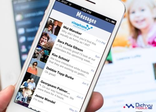 Các gói khuyến mãi nhắn tin nội mạng của Vinaphone 2016