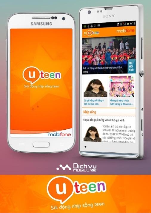 Đăng ký dịch vụ uTeen của Mobifone