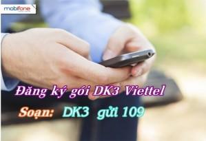 Đăng ký gói DK3 của Viettel
