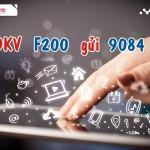 Đăng ký gói Fast Connect F200 của Mobifone ưu đãi đến 20GB