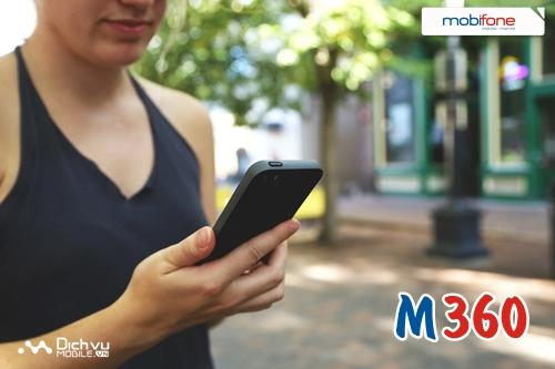 Đăng ký gói M360 của Mobifone ưu đãi khủng