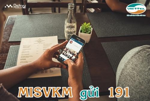 Đăng ký gói MISVKM của Viettel