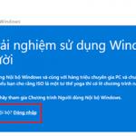 Hướng dẫn nâng cấp lên Windows 10 Mobile bản chính thức