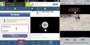Hướng dẫn tải Video từ Facebook trên thiết bị Android, iPhone và Windows Phone