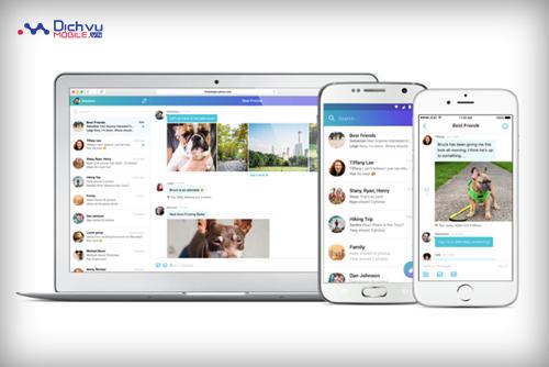 Ứng dụng Yahoo Messenger lần đầu được cách tân