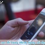 Cách ứng ngày sử dụng cho thuê bao Vinaphone
