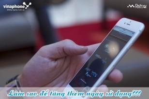 Ứng ngày sử dụng cho thuê bao Vinaphone