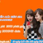 Khuyến mãi siêu sim Vietnamobile tặng 2.000 phút + 2.000MB
