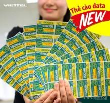 Viettel cung cấp thẻ cào data cho thuê bao trả trước
