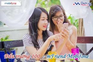 Cùng Đấu Trường 100 – mFriend Mobifone nạp thẻ mỗi ngày