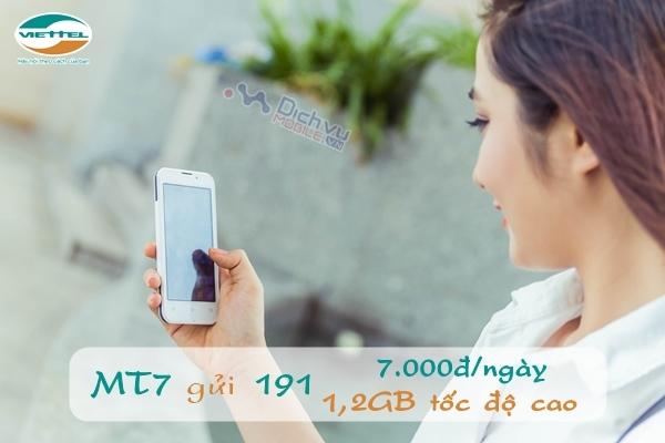 Đăng ký 3G 1 ngày gói MT7