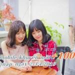Vietnamobile khuyến mãi 100% giá trị thẻ nạp 2/4 – 3/4/2016
