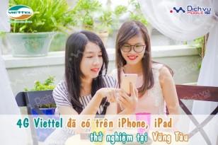 Viettel đã triển khai thành công 4G trên iPhone và iPad