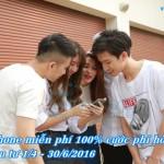 Miễn phí 100% cước hòa mạng Vinaphone trả sau từ 1/4 – 30/6/2016