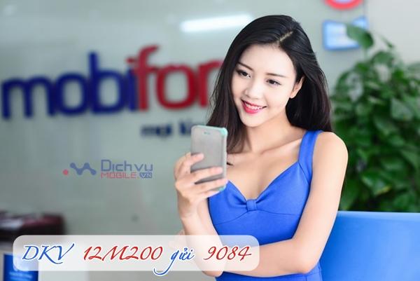 Đăng ký gói 12M200 của Mobifone