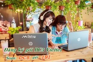 Đăng ký gói DC5 của Viettel