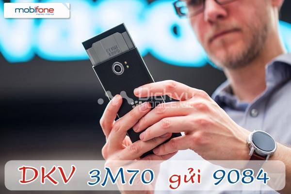 Đăng ký gói 3M70 Mobifone