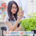 Đăng ký gói 6M70 Mobifone ưu đãi 2GB data trong 6 tháng
