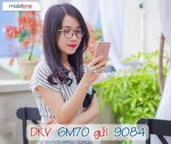 Đăng ký gói 6M70 Mobifone