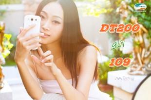 Đăng ký gói cước đổi tiền DT200 của Viettel