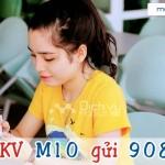 Đăng ký gói M10 của Mobifone