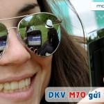 Đăng ký gói M70 của Mobifone ưu đãi 1.6GB chỉ 70.000đ