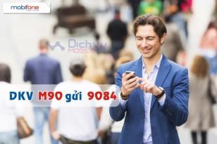 Đăng ký gói M90 của Mobiofne