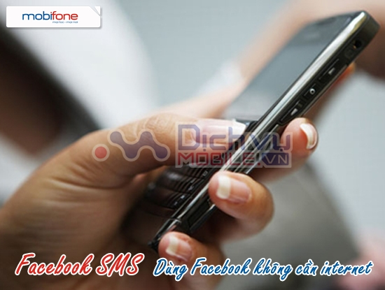 Dịch vụ Facebook SMS của Mobifone