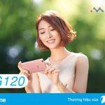 Đăng ký gói BIG120 Vinaphone ưu đãi 6GB data dùng 1 tháng