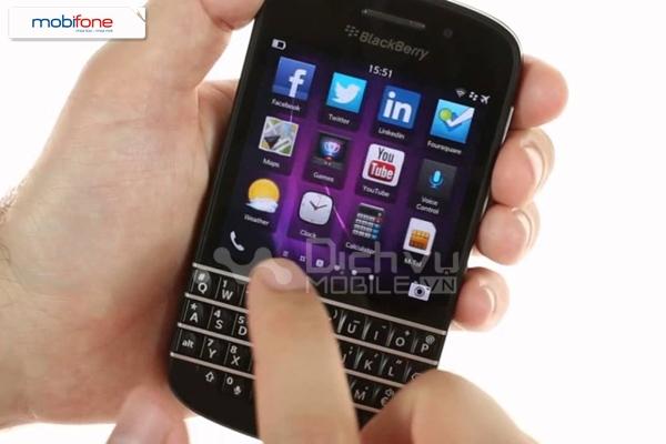 Gói cước BBU Mobifone dành cho BlackBerry