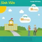 Các ưu đãi khi kích hoạt mới sim sinh viên Viettel từ tháng 5/2016