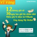 Đăng ký gói VT Vàng của Viettel không lo mất số.