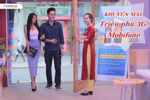 Khuyến mãi triệu phú 3G Mobifone
