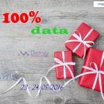 Mobifone khuyến mãi 100% dung lượng data ngày 23 – 24/5/2016