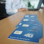 MobiFone và VinaPhone đồng loạt thử nghiệm sim 4G