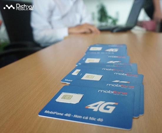 MobiFone và VinaPhone đang thử nghiệm SIM 4G
