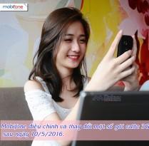 Thông báo Mobifone điều chỉnh một số gói 3G sau ngày 10/5/2016