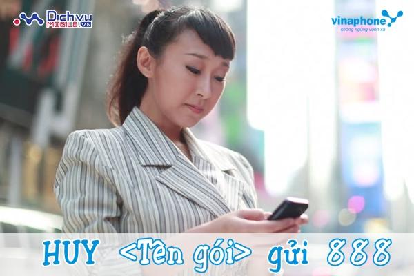 Cách hủy dịch vụ 3G Vinaphone