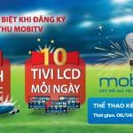 """Chiến dịch Euro 2016 """" Thể thao kết nối đam mê"""" của Mobifone"""
