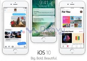 Danh sách các thiết bị tương thích với Apple iOS 10